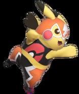 1.6.Pikachu Libre striking