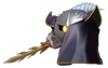 2.4.Meta Knight hiding behind his cape