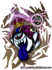 Mario strikers charged football captain king boo by princesa daisy-d62wlt5
