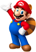 Raccoon Mario