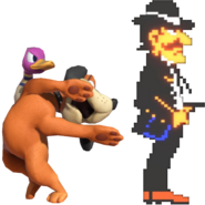 0.23.Duck Hunt Duo summoning a Wild Gunman 5