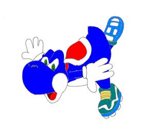 Blue Yoshi 2d
