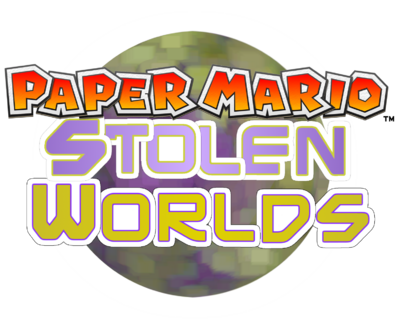 Paper Mario Stolen World Logo