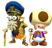 5.Toadsworth And Captain Cuttlefish