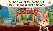 Arcade bunny is savage