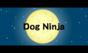 Dog Ninja title 3DS