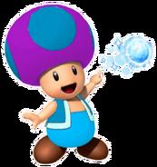 Ice Purple Toad