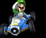 Luigi MK8 Shadow