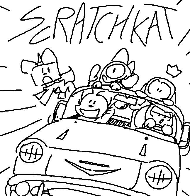Scratch kat cover var2