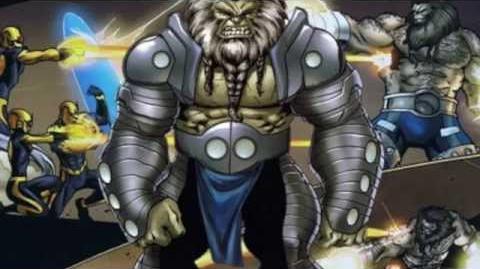 Storyline and origins history of Blastaar Podcast