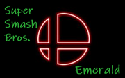 Super Smash Bros Emerald Logo