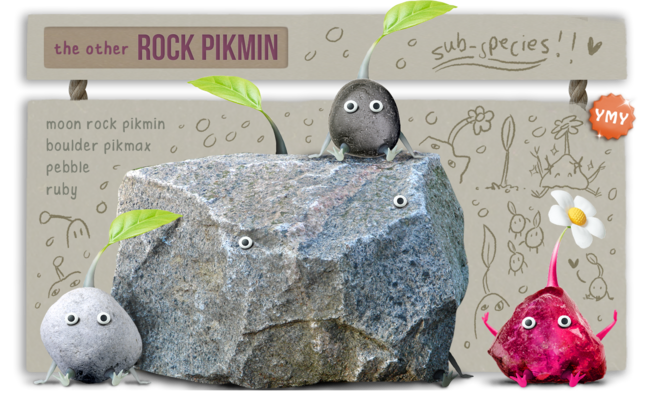 Pikmin 4 (YeeMeYee) - Infobox Other Rock Pikmin