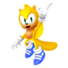 Ray the flying squirrel mania version render by nibroc rock-dc8n02o