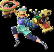 Smash Ultimate Min Min alt 4