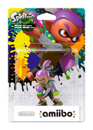 Amiibo - Splatoon - Inkling Boy Purple - Box