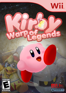 Kirby Warp of Legends Boxart