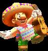 Poncho Sombrero Mario 2