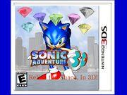 Sonic Adventure 3D boxart