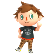 Villager new leaf render smash 4 pose by nibroc rock-dax8mno