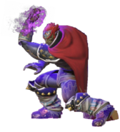 1.13.Ganondorf charging up his Warlock Punch