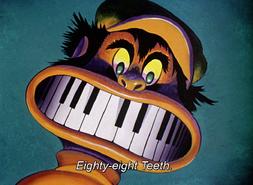 88 teeth