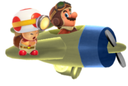 MarioInPlaneWithCaptainToad