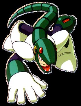 Snakeman transparent