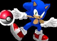 SonicThrowingPokeball
