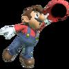 3.Mario grabbing his cap