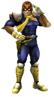 Captain Falcon .