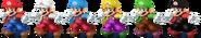 SSBRiot Mario Color Palettes
