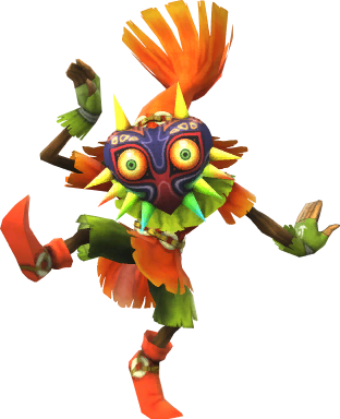 Skull Kid trophy SSB4