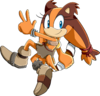 Sticks the jungle badger sonic x by siient angei-d8y5x20