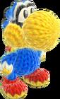 Yoshi's Woolly World design - Kamek Yoshi