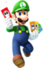 76px-Luigi Card Artwork - Mario Party Island Tour