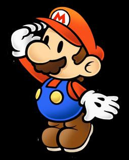 Curious Paper Mario