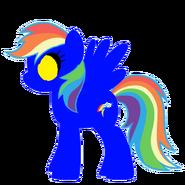 Dark Dry Rainbow Dash