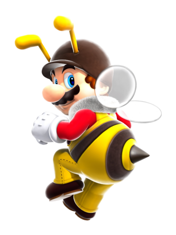 File:Full Bee Mario SMG.png