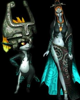 Midna and Imp Midna