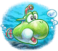 Submarine Yoshi - New Island