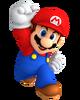 Mario party win pose gamecube era render by nintega dario-dbx65w1