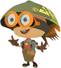 Splatoon 2 Sheldon Artwork Transparent