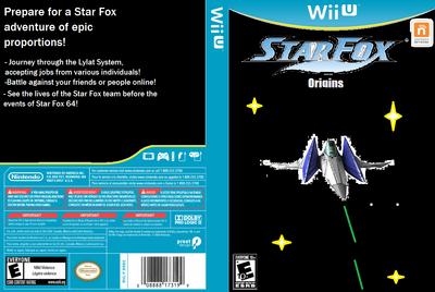 Star Fox Origins Box