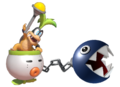 2.3.Iggy Koopa Commanding a Chain Chomp