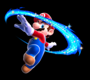 250px-Mario Spin Art - Super Mario Galaxy