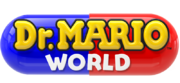 Dr. Mario World logo