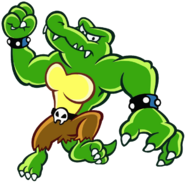 Kritter Artwork - DK King of Swing