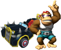 MKPC Funky Kong