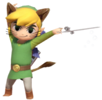 0.4.Monster Toon Link using the Wind Waker
