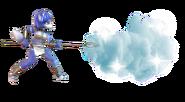 4.6.Krystal shooting a blizzard forward